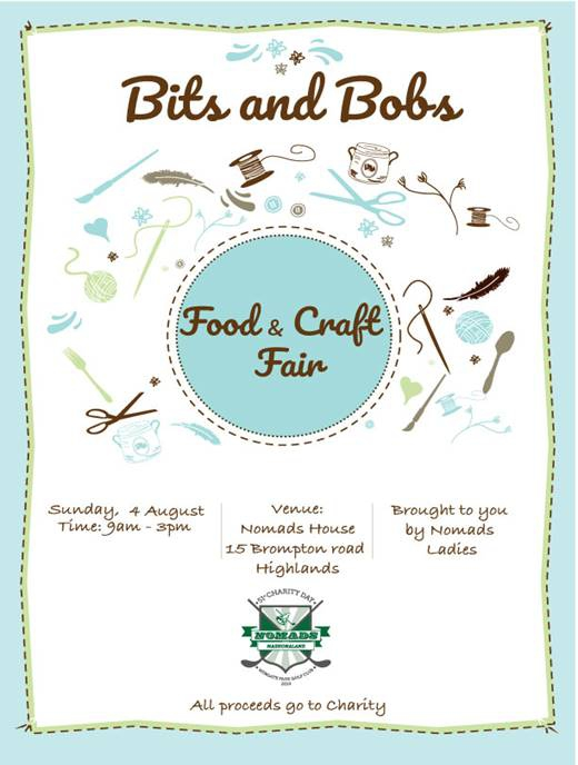 Nomads Bits and Bobs Food and Craft Fair