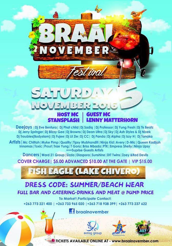 November Braai Festival.