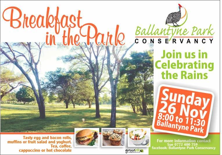 November-Breakfast In The Park