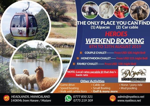 Nyati Eco Game Park, Heroes Weekend