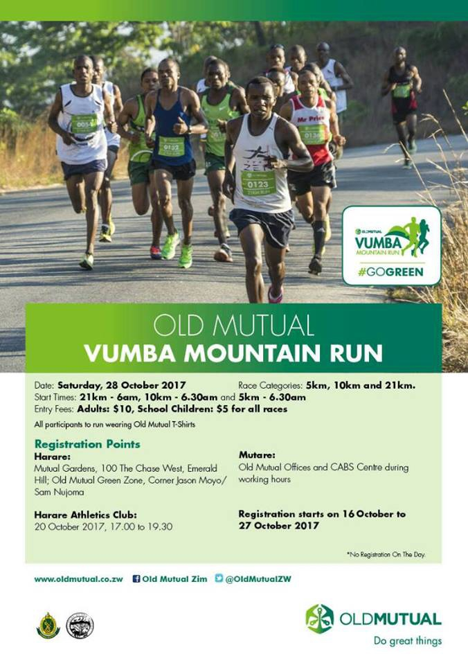 Old Mutual Vumba Mountain Run