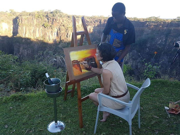 Painting on the Edge