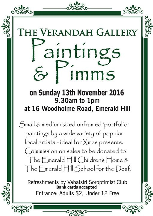 Paintings & Pimms!