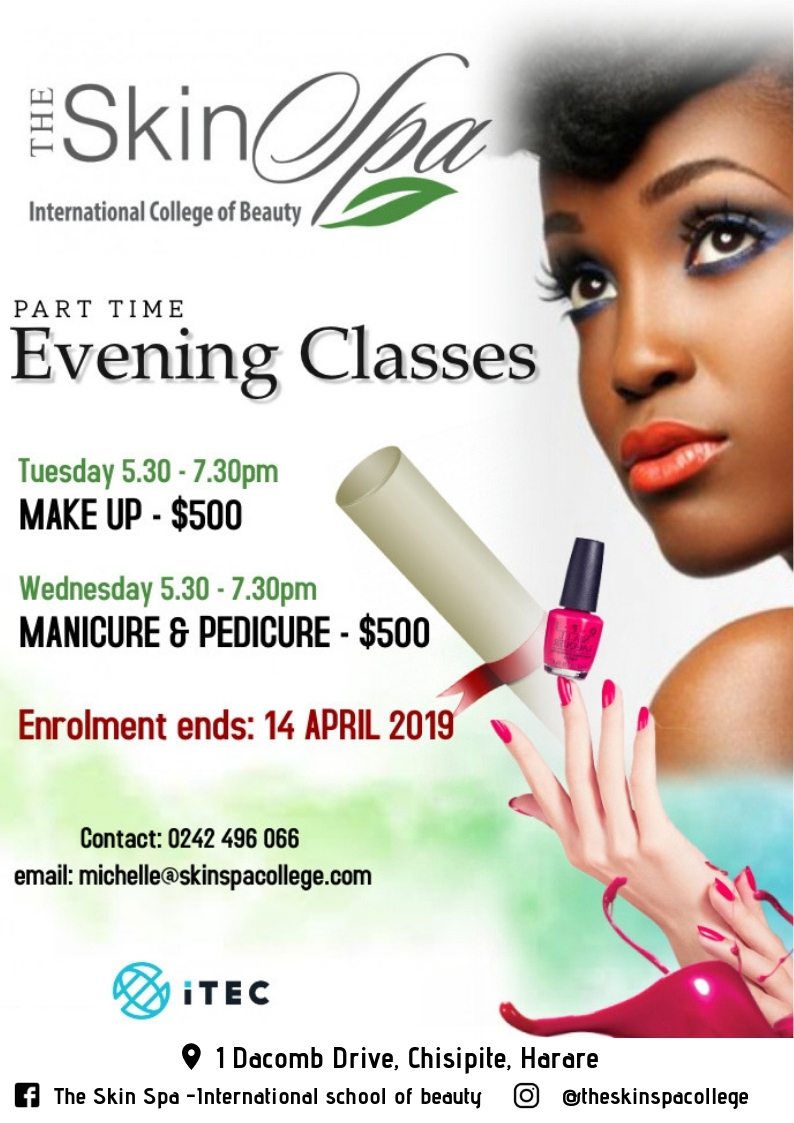 Part Time Evening Classes - The Skin Spa