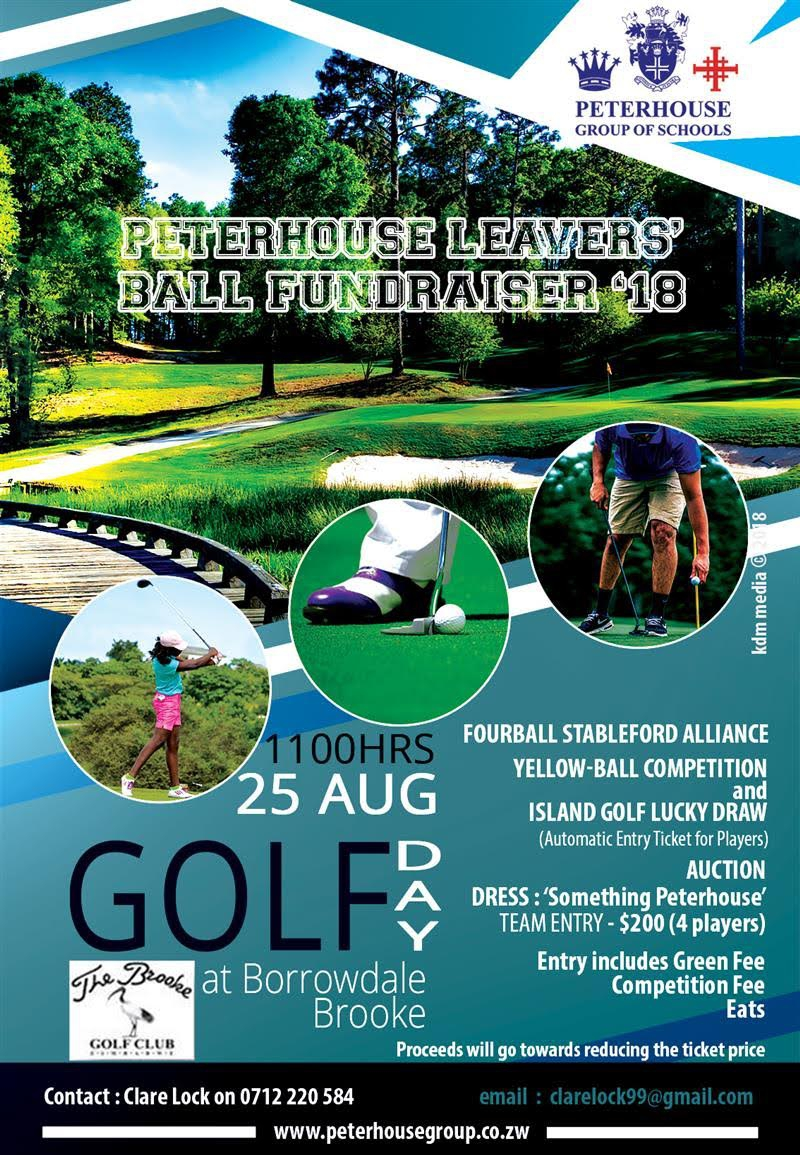 Peterhouse Leavers Ball Golf Fundraiser 2018