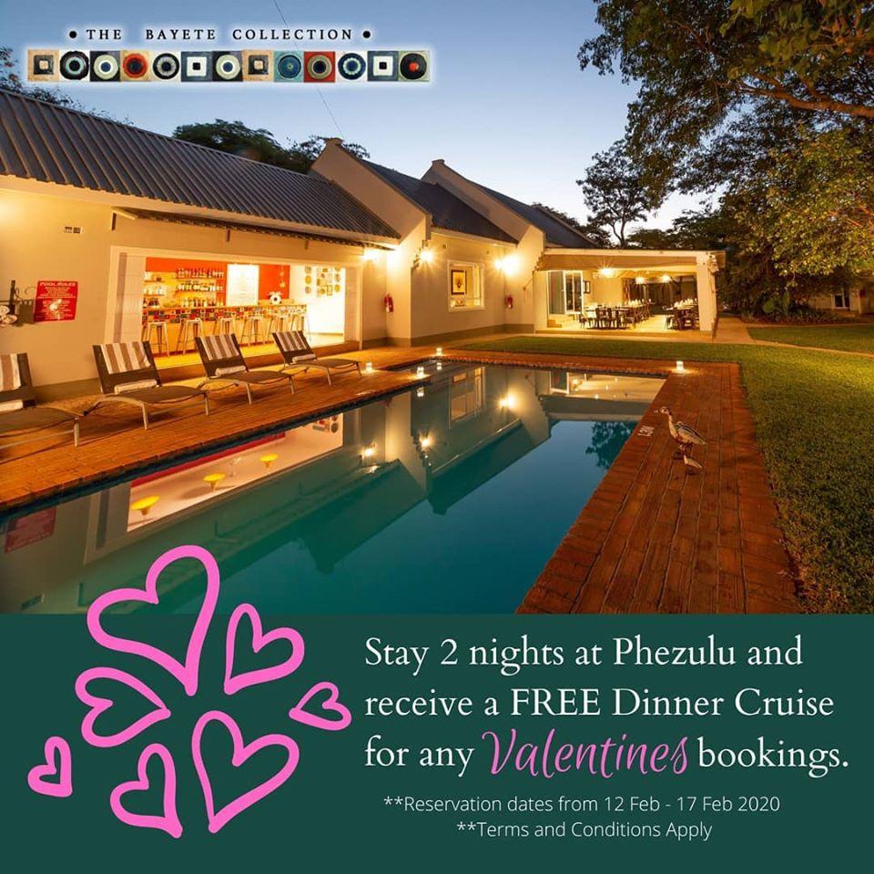 Phezulu Guest Lodge Special