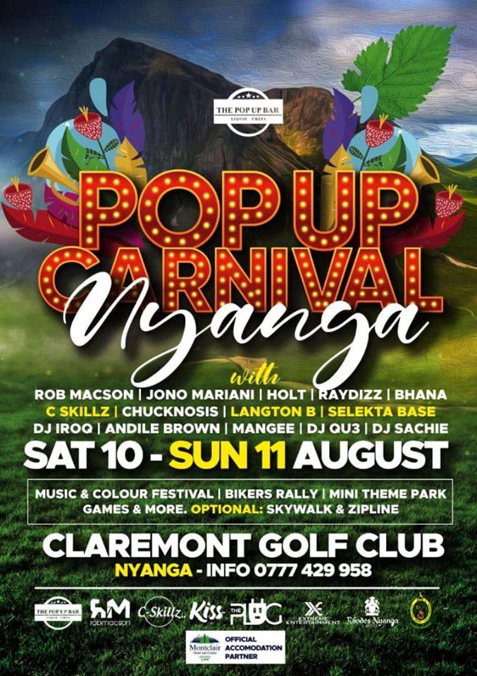 Pop Up Carnival at Montclair Hotel