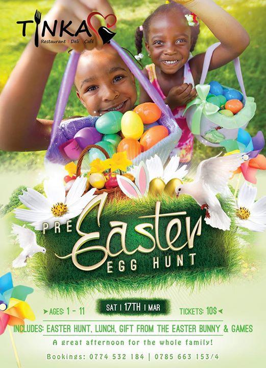 Pre-Easter Egg hunt