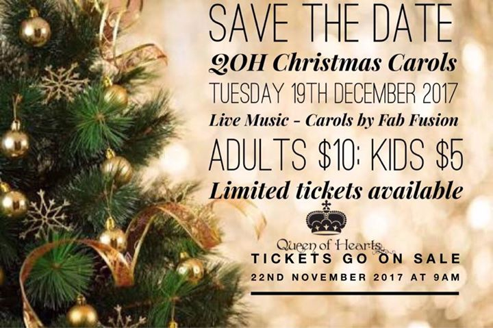 QOH Christmas Carols 2017