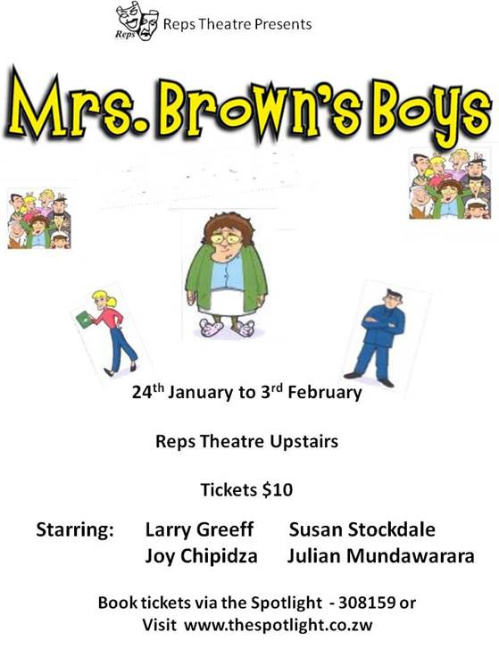 Reps: Mrs Brown's Boys