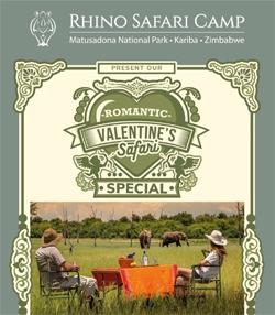 Rhino Safari Camp Romantic Valentine'e Special