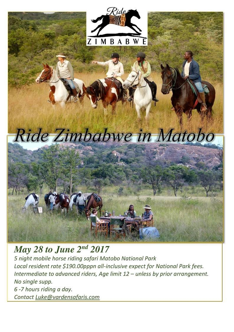 Ride Zimbabwe Matobo Start Up Special