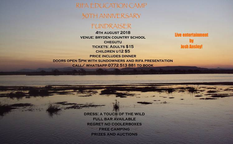 Rifa Conservation Education Camp fundraiser