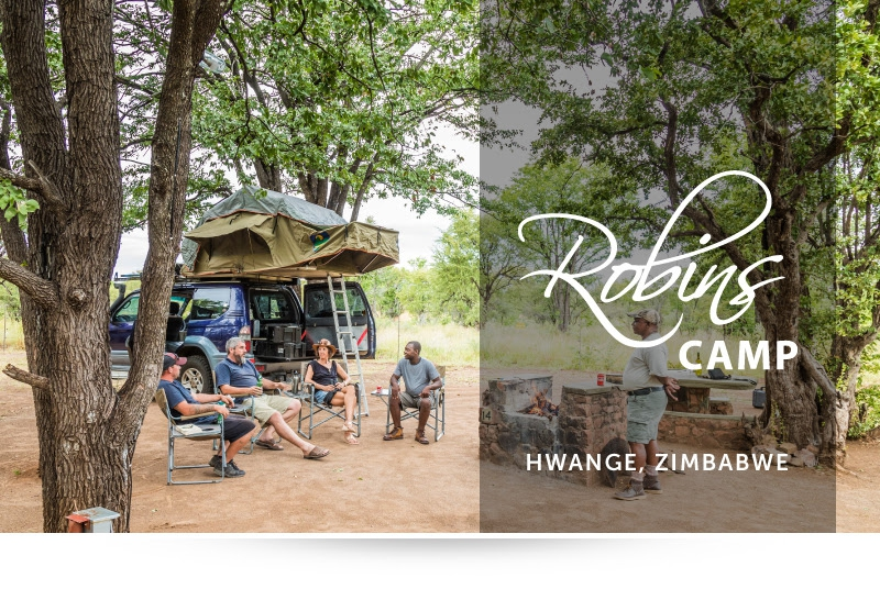 Robins Camp - Plan a 2-night camping adventure & receive an extra night!