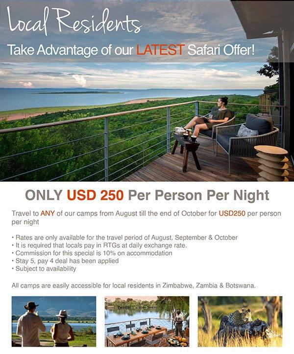 Safari Offer for Local Residents Only