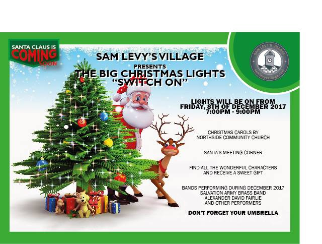 Sam Levy's Annual Christmas Lights Switch On
