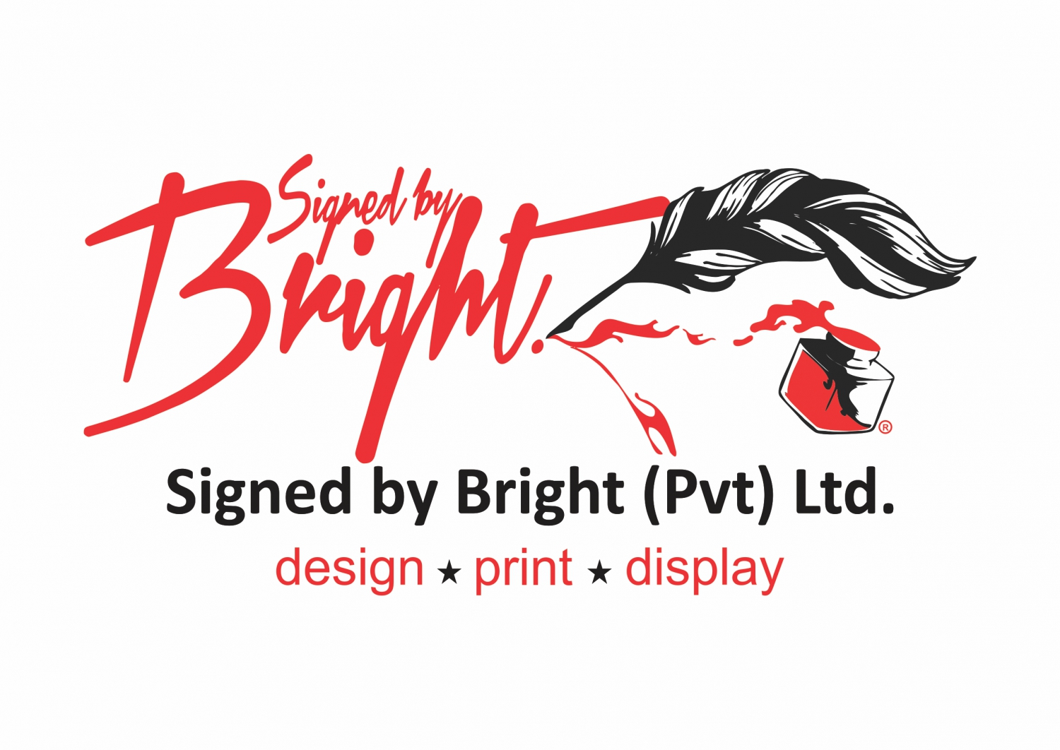 SIGNED BY BRIGHT P/L