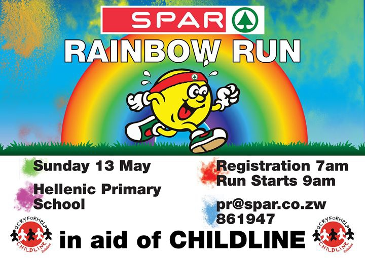 SPAR Rainbow Run 2018 in aid of Childline