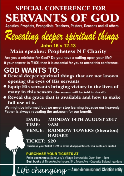 Special Conference in August.
