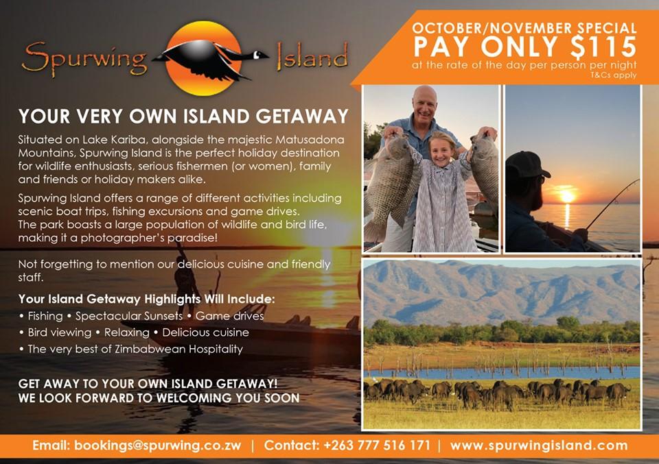 Spurwing Island October & November Special!