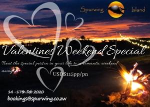 Spurwing Island Valentine's Special