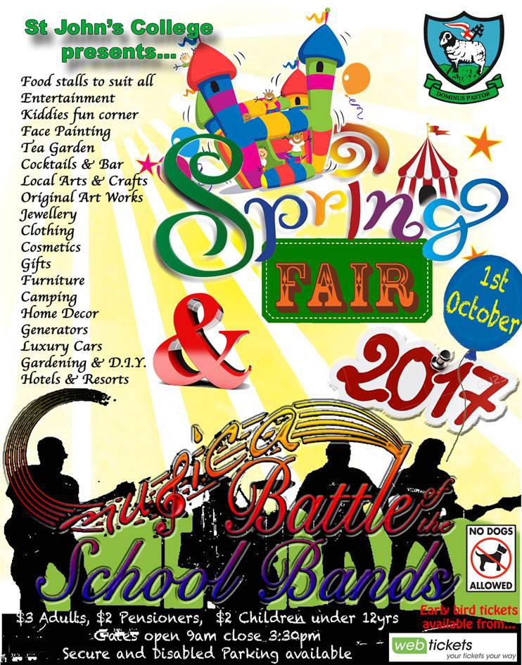 St John's College Spring Fair 2017