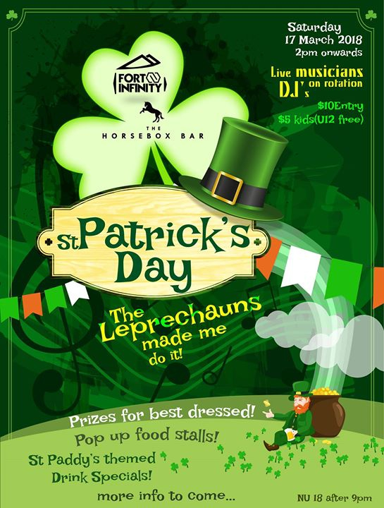 St Paddy's Day at Horsebox