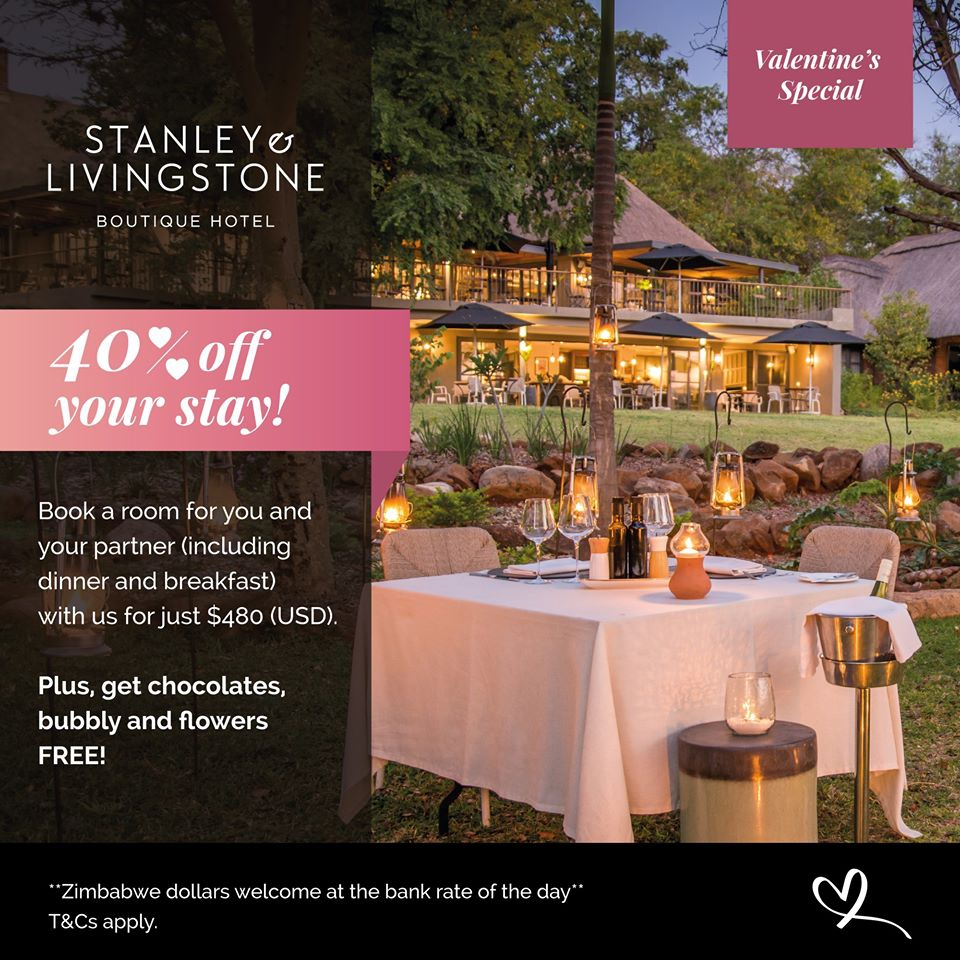 Stanley & Livingstone Hotel Valentine Special