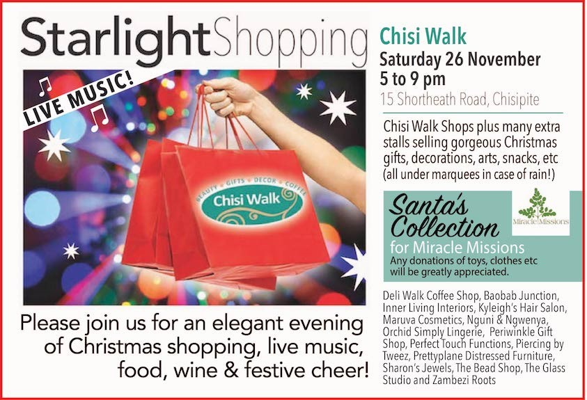 Starlight Shopping at Chisi Walk!