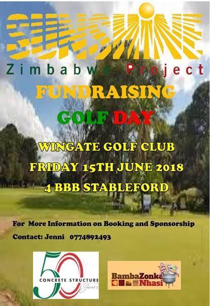Sunshine Zimbabwe Project Golf Day