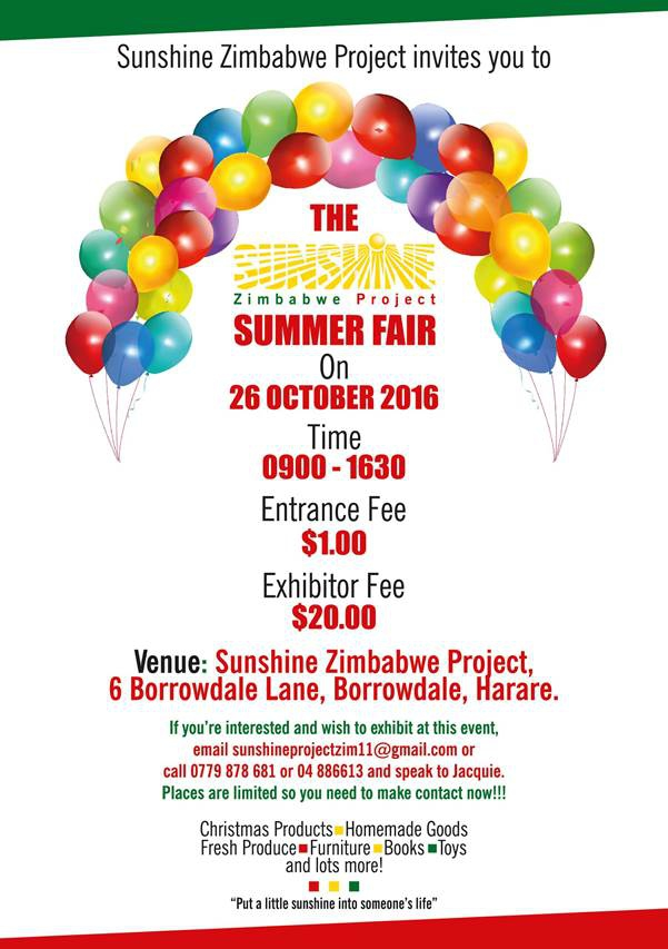 Sunshine Zimbabwe - Summer Fair