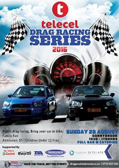 Telecel 2016 Drag Racing Series (Public Drag Racing)