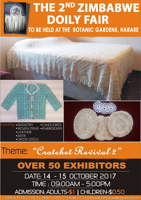 The 2nd Zimbabwe Doily Fair
