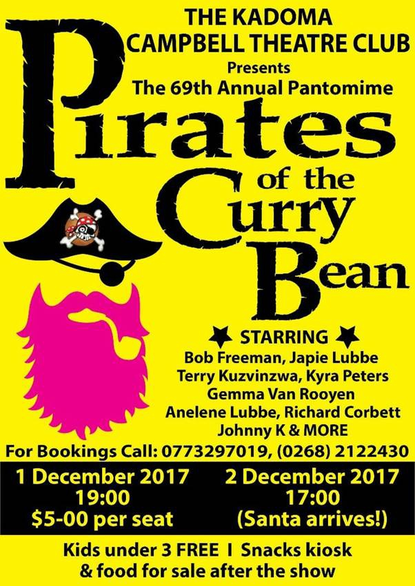The 69th Annual Pantomine Pirates Of The Curry Beans