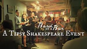 The Bard In The Bar.
