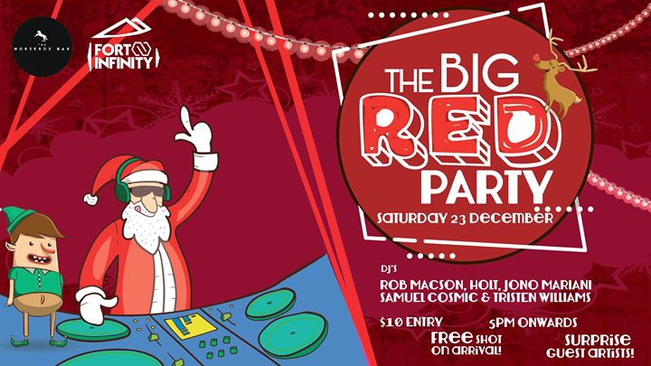 The BIG Red Xmas Party