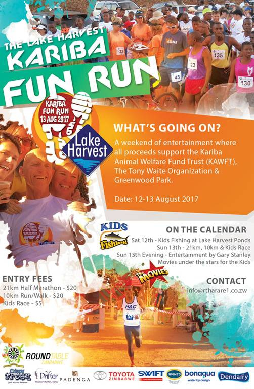 The Lake Harvest Kariba Fun Run