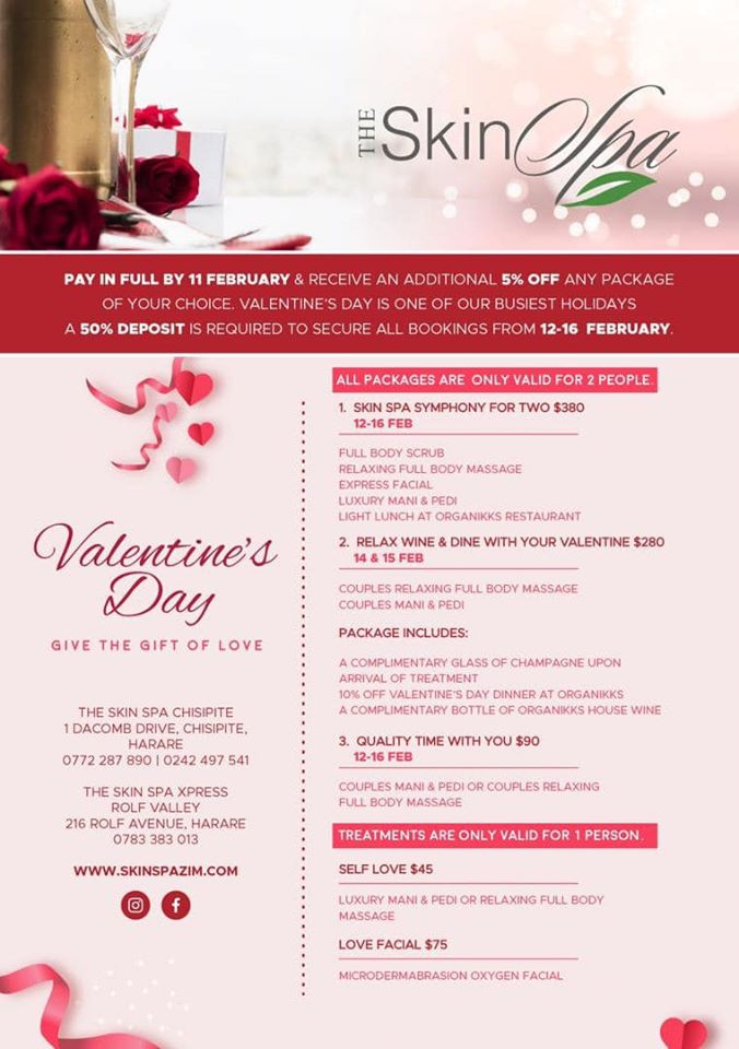 The Skin Spa's Valentine Day