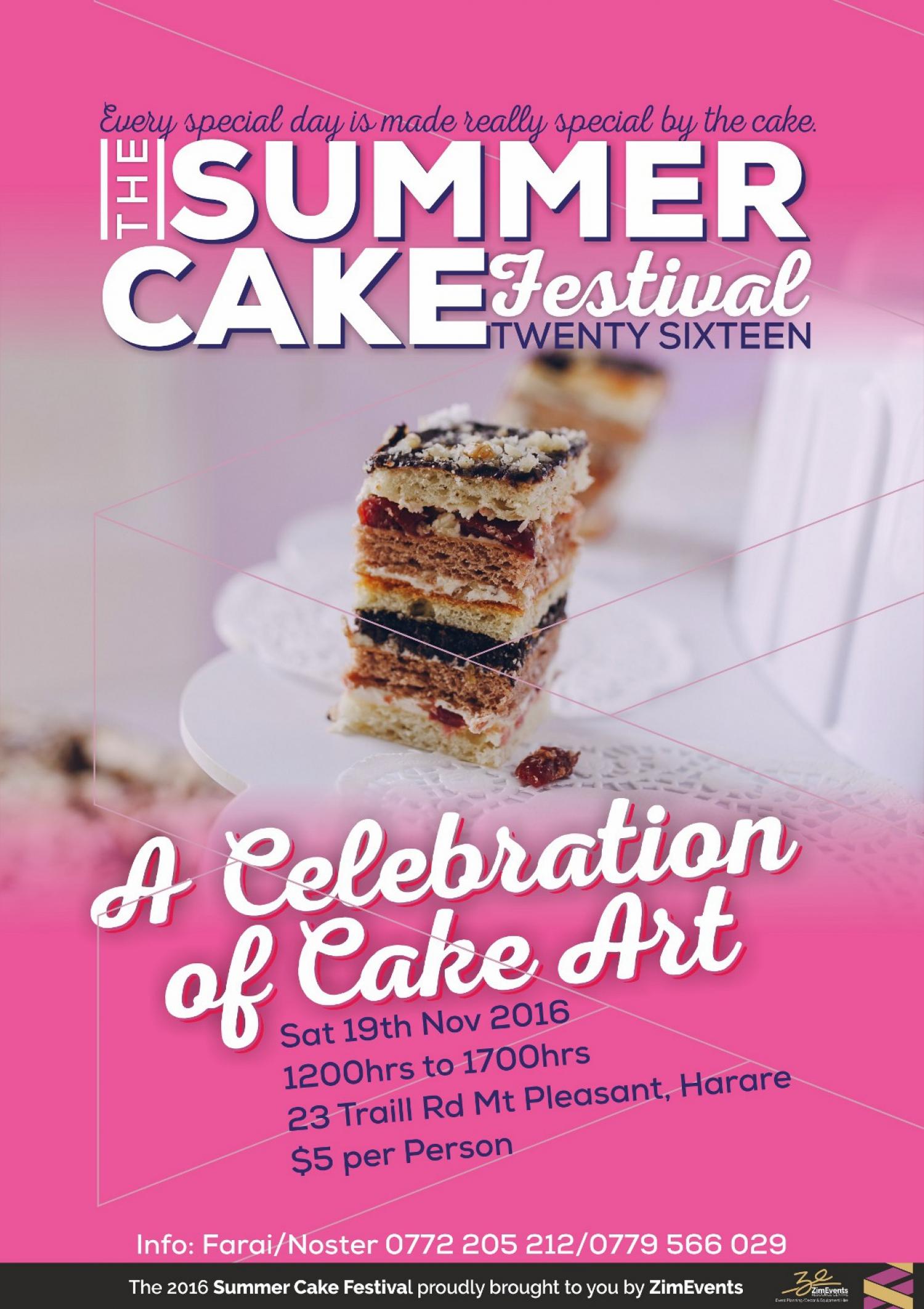 The Summer Cake Festival 2016