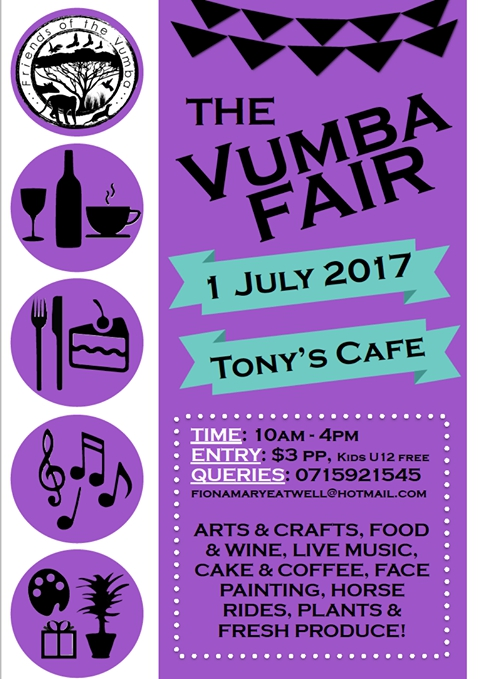 The Vumba Fair At Tony's Cafe