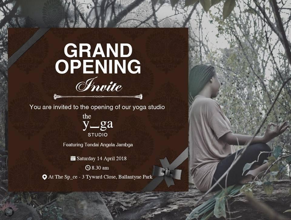 The Y_ga Studio Opening