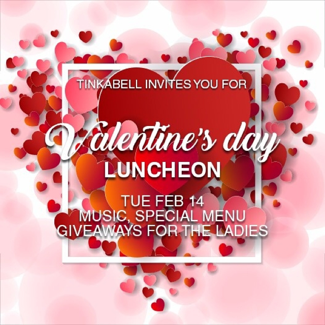 Tinkabell Valentines Day Luncheon