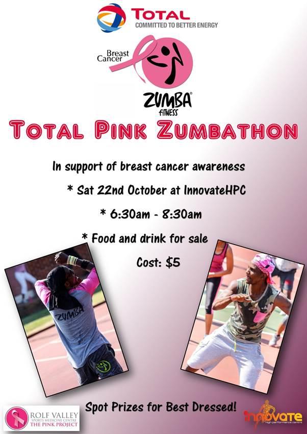 Total Pink Zumbathon