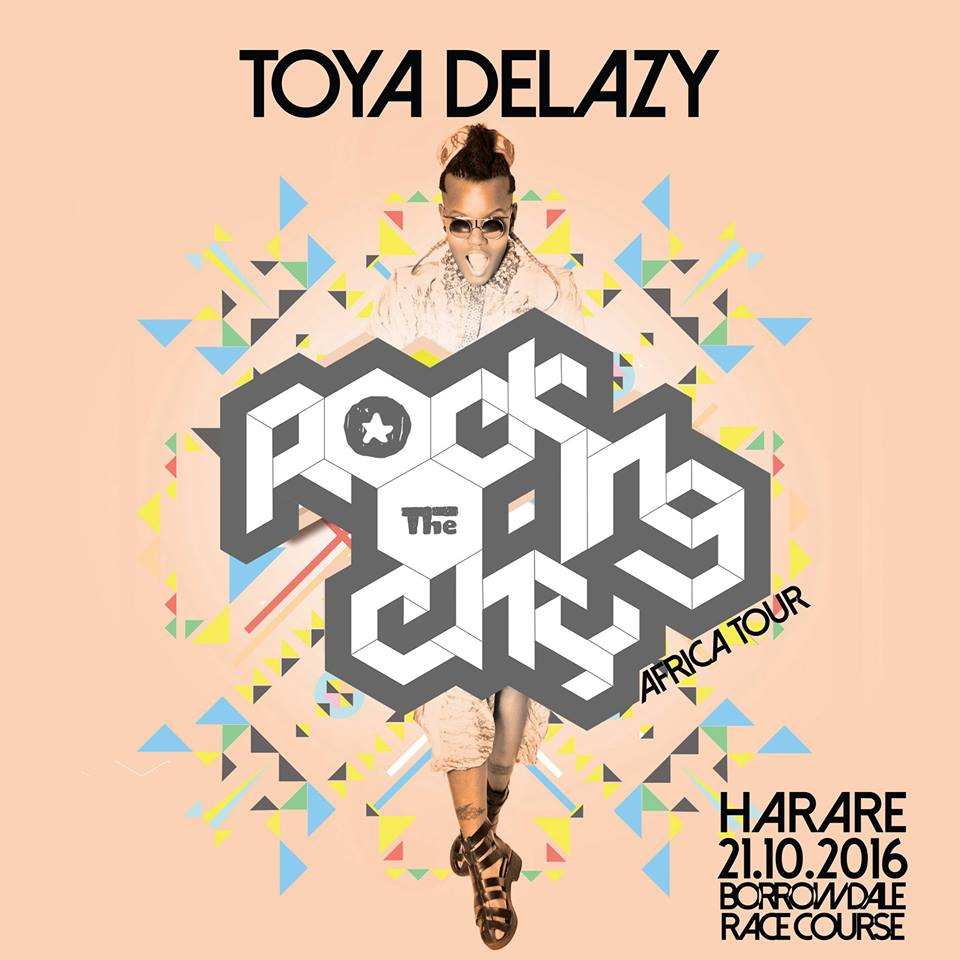 Toya DeLazy - Rocking the City Concert