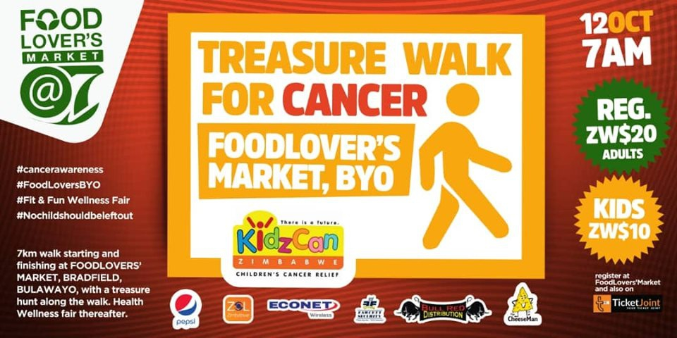 Treasure Walk For Cancer