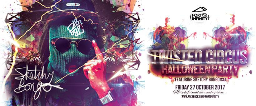 Twisted Circus Halloween Party ft Sketchy Bongo