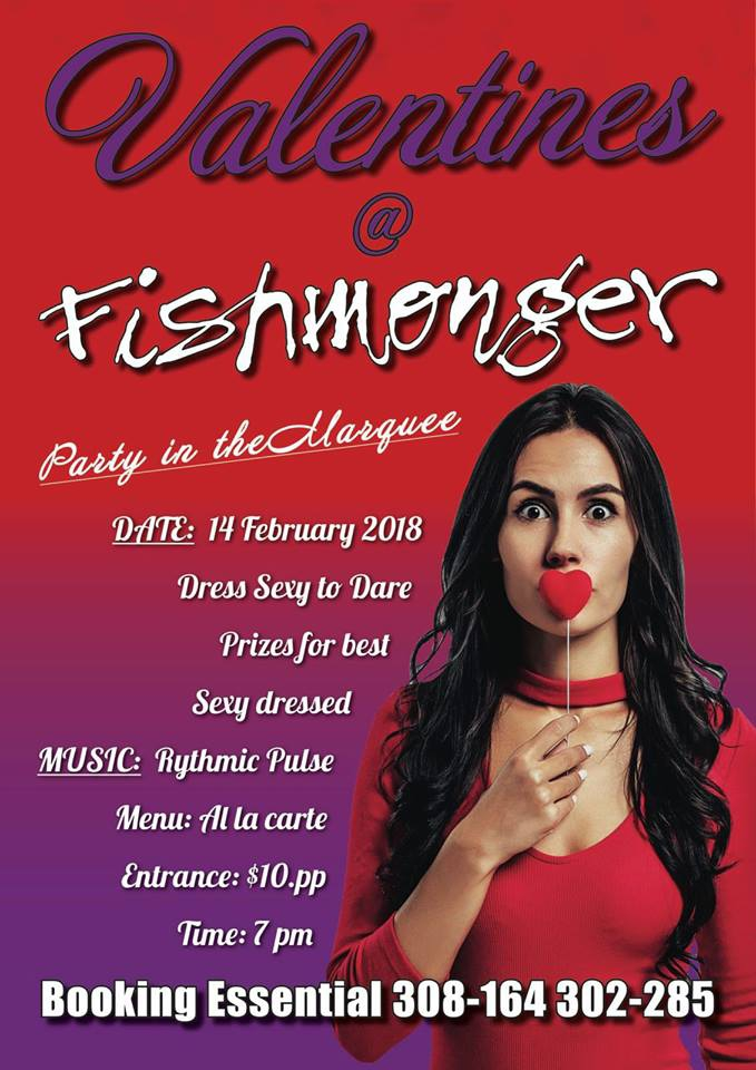 Valentines Day Dinner At Fishmonger