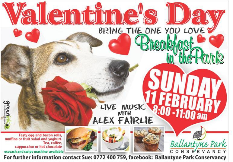 Valentine Breakfast In The Park 11 Feb