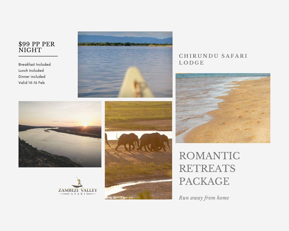 Valentine's at Chirundu Safari Lodge