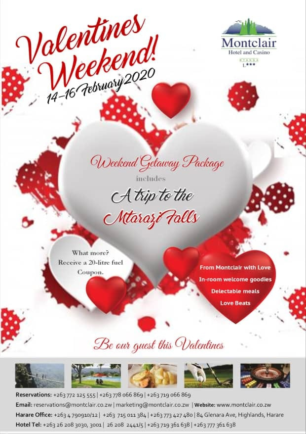 Valentine's Day at Montclair Hotel and Casino